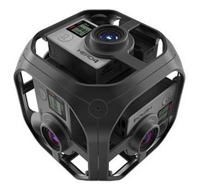 GoProを6台固定して360度撮影に使えるリグ「Omni」