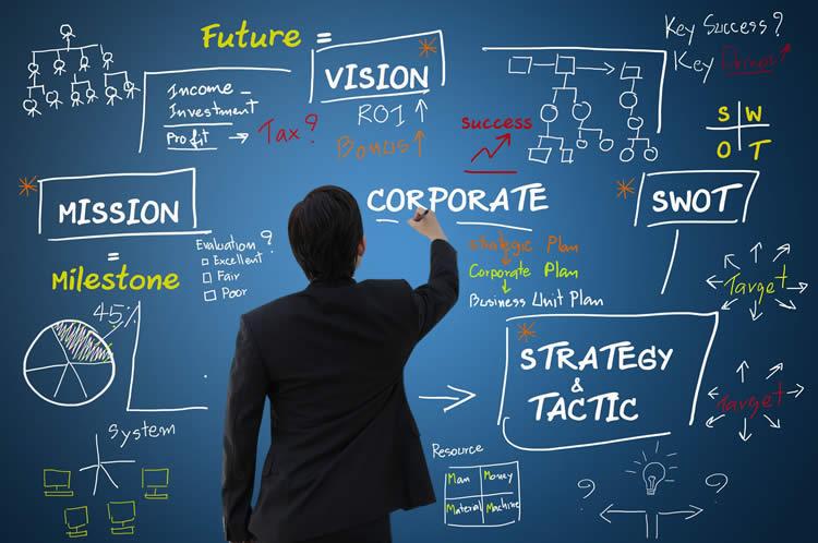 社是や経営理念を表すイメージ
