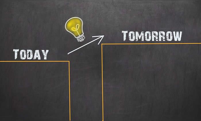 今日より明日へのステップアップ