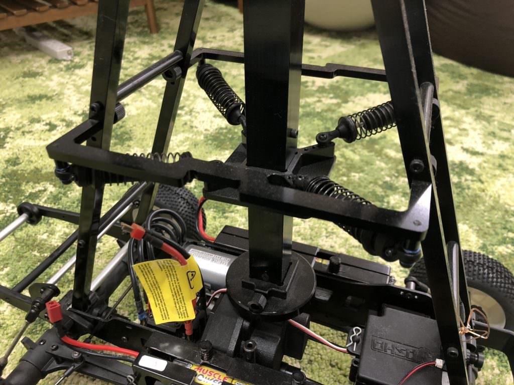 Dolly360の左右の制震用スタビライザー部分