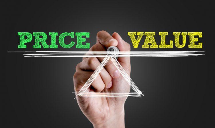 価格と価値をどのように判断するか?