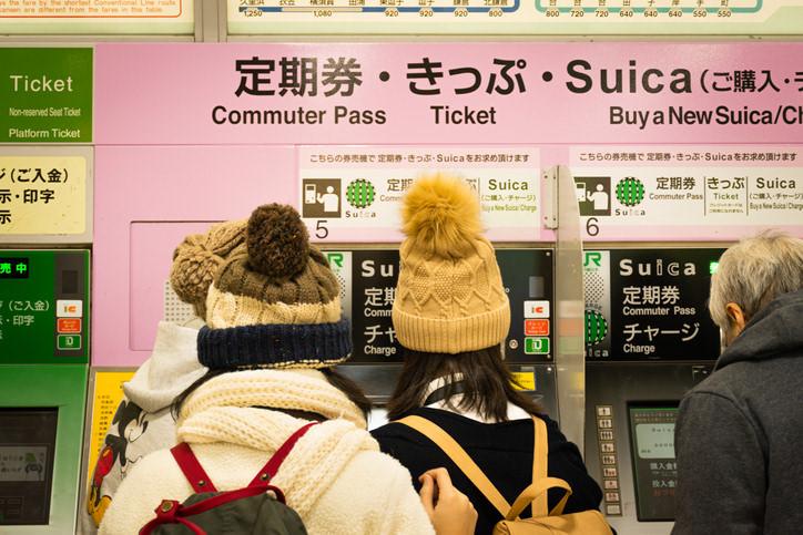 定期券のイメージ写真