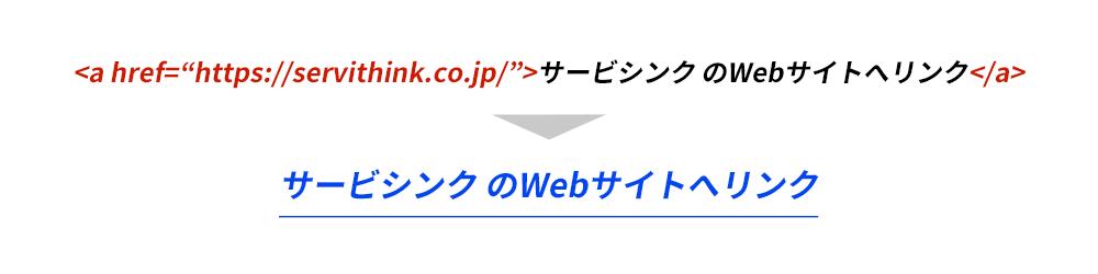 htmlのaタグのイメージ